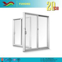 YH Best selling good quality plant designed pictures upvc windows with grill