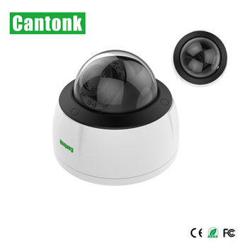 IP66 Vandalproof H.265 2MP IP 1080P Dome Camera Manuel Zoom Lens