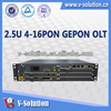 GEPON OLT 16PON Telecommunication Equipment OLT