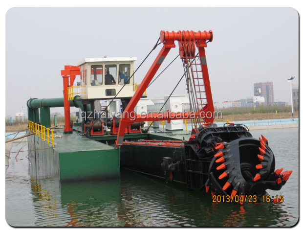 China low price new hydraulic sand pump dredger for sale