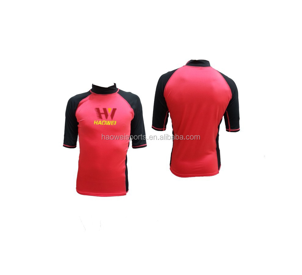 rash guard lycra gym suit swimming suits with stretch lycra un 50+ protection