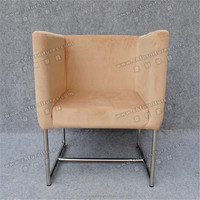 Comfortable and durable stainless steel frame chair,arm tub chair YC-ZS -3