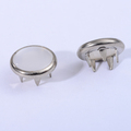 Metal Snap Ring Button