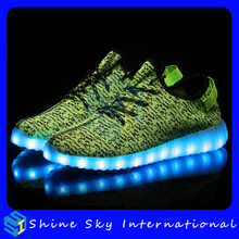 Ghost step dance glowing rechargeable tennis led shoes, rechargeable tennis led shoes, China wholesale led shoes footwear led
