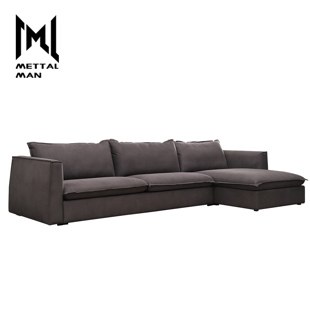 modern and contemporary furniture sofas accent divan purple wide Cloth art couches set