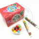 15g 30pcs Waxberry Ball Shaped Mixed Flavors Colorful Halal Candy Bubble Gum in Bag Sticks