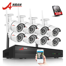 Anran 8ch Wifi Camera System 720P Wireless Camera and NVR CCTV Camera System