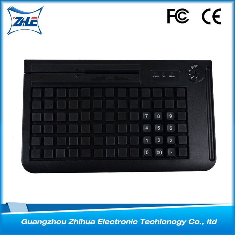 Touch pos terminal kb78 programmable pos keyboard