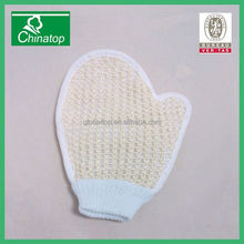good quality disposable oval loofah/loofa/luffa bath scrub for hotel