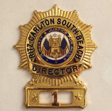 Cheap custom metal security pin badges