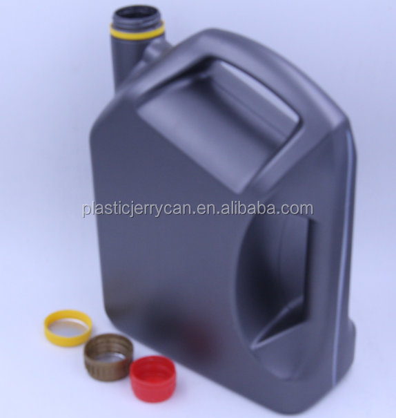 China Recyclable Plastic HDPE Bottle With Red Cap