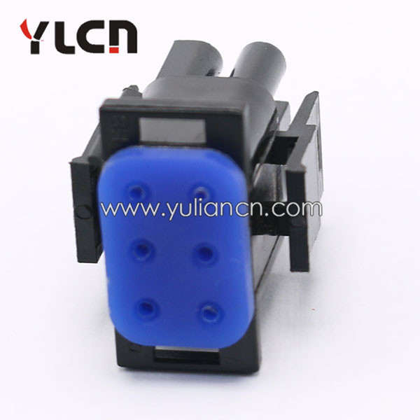 6 pin auto female electrical connector