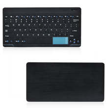best price hot sale wireless mini bluetooth keyboard touchpad for Android MAC
