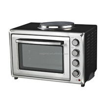 Vertical toaster oven with mini stove electric oven toaster