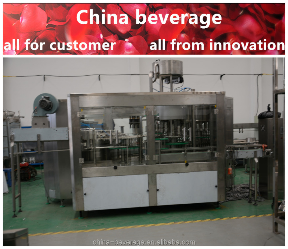 Factory direct price high-precision soft drink/carbonated water filling machine manufacturer