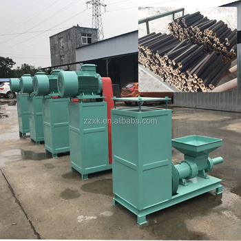High quality Biomass Charcoal Rods Making Machine