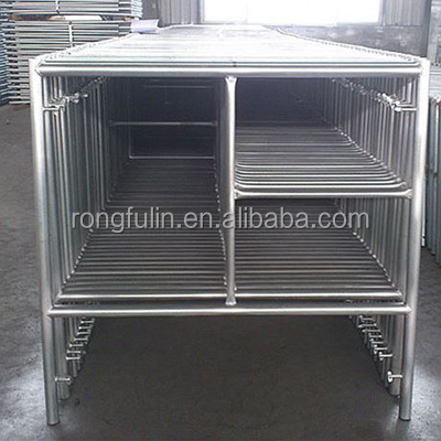 Q235 Ladder frame scaffolding used for construction