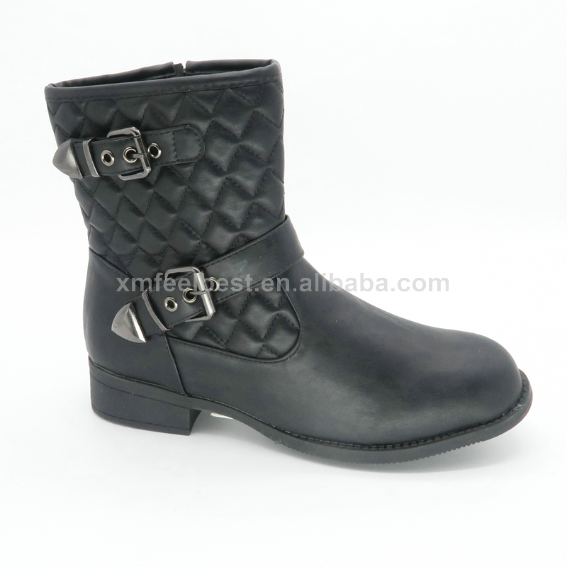 New low MOQ italian winter platform high heel boots for women