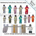 Beekeeping Suits with removable veils custom designs colors and sizes