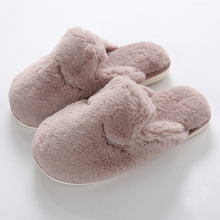 Best Choose Comfortable Soft Flat Fluffy Indoor Slippers Women/Ladies Winter Bedroom Shoes