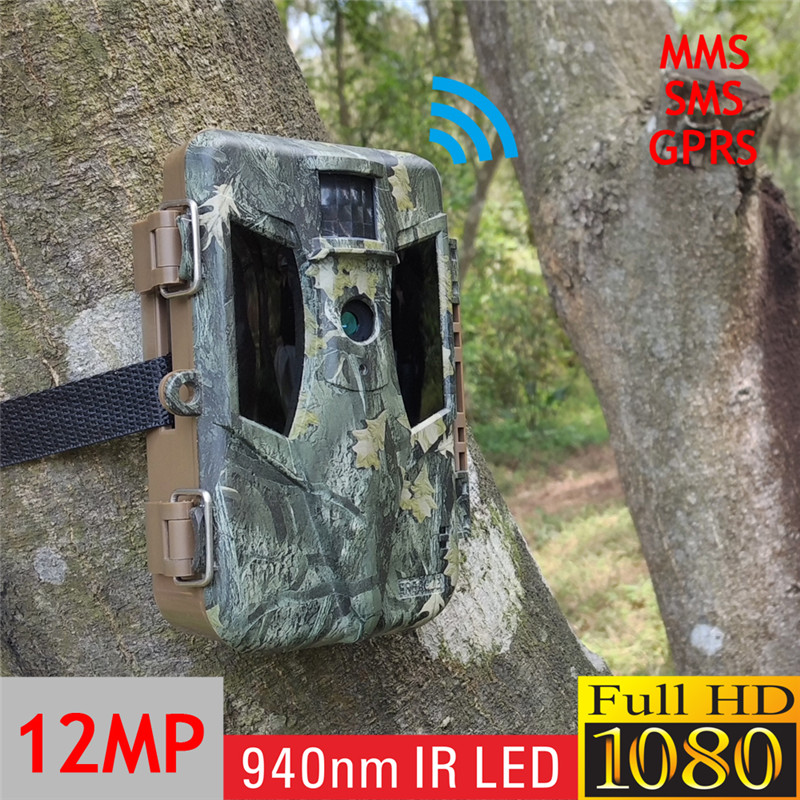 Bulk Quantity No Glow GPRS Deer Track Game Surveillance Camera without Anti-shake Function