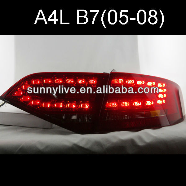 LED Tail Light For Audi A4 B8 LED Rear lamp 2005-08