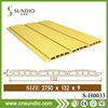 Interior wood plastic composite hollow wall clapboard siding