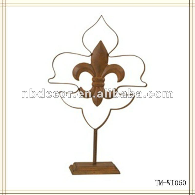 Hot sale metal standing decoration cross
