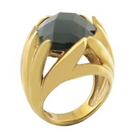 Chic good at making customized stainless steel jewelry 18k gold filled rings