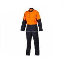 100% Cotton Safety Flame Fire Retardant Workwear Coverall