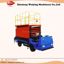 high lifting electric platform truck