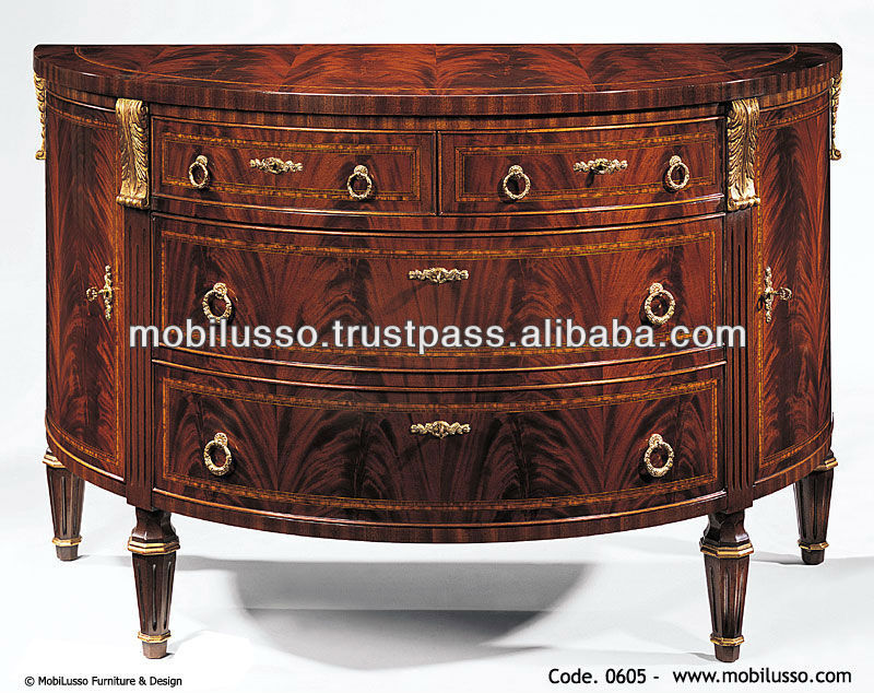 Luxury European Classical Sideboard