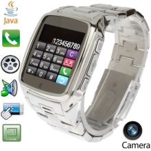 new products TW810 GSM Smart Watch Phone, Sturdy Stainless Steel, Camera / JAVA / Bluetooth, Single SIM, Network: 2G