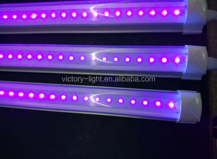 China LED manufacturer price LED aquarium light AC85-25V LED aquarium lights 18W 4FT LED tube lighting best price LED aquarium