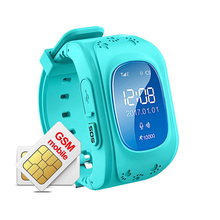 Q50 Kids Smartwatch with GPS Tracker Anti Lost App Control by Parents for Children Boys Girls Compatible with Android iPhone