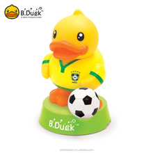 B.Duck animal shaped figurine, plastic pvc material 3D figurine for gifts
