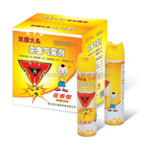 Household product China spray household oil based water aerosol insecticide spray