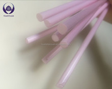 new colored pyrex milky violet Glass Rod