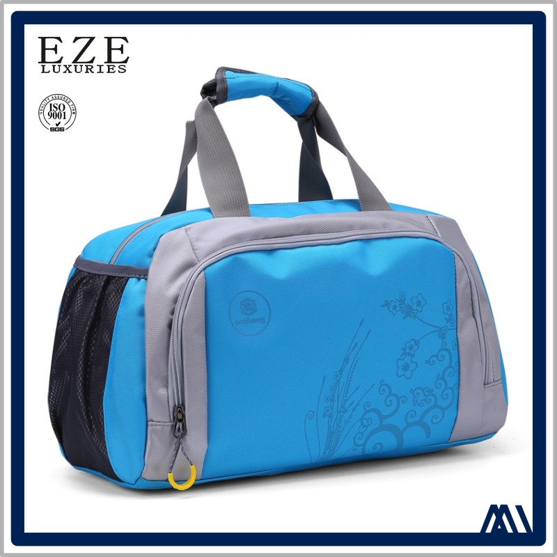 high quality stylish 2 day women sport tote duffle bag popular beauty portable durable polyester convenient travel bag