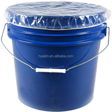 factory supply plastic clear elastic drum pail covers