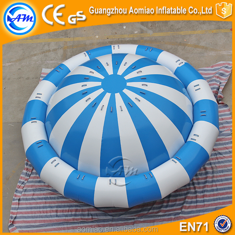 Crazy water games inflatable semi boat inflatable disco boat water saturn toy
