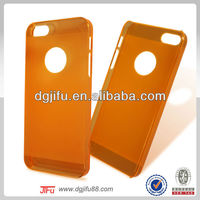 for iphon 5 case ultra thin transpar, clear transperent case for phone5/5s matt and glossy surface finishing