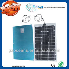 Outdoor solar panel portable and light with monocrystalline solar cell high efficient 60W