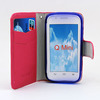 Hi-Q wallet leather cover flip case for zte blade q mini phone cases