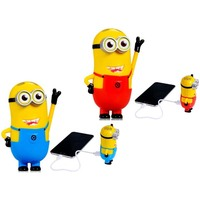 2015 Cute Portable Minions Power Bank Backup Battery Charger 4000mAh
