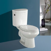 ceramic sanitary ware company in henan province two piece toilet siphonic