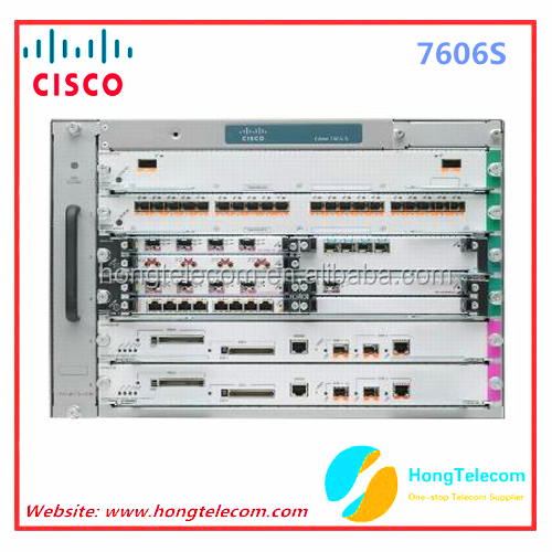 Original CISCO 7606 series router 7606S-RSP7C-10G-P