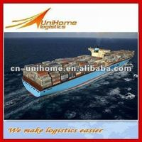 Ningbo cargo shipping agent international logistics container shipping service to Bangkok