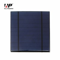5v 500mah Mini Solar Panel Cell for DIY Cell Phone External Portable Battery Power Charger