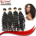 VIP virgin hair with bouncy ends deep curly indian hair shampoo with full cuticle